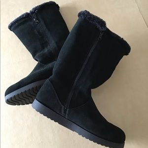 Suede Boots Size 11